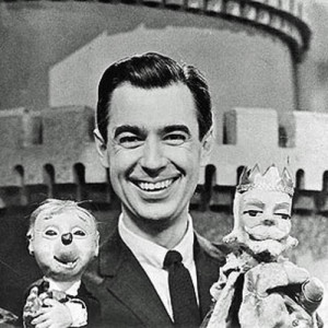 Mr Rogers and puppets